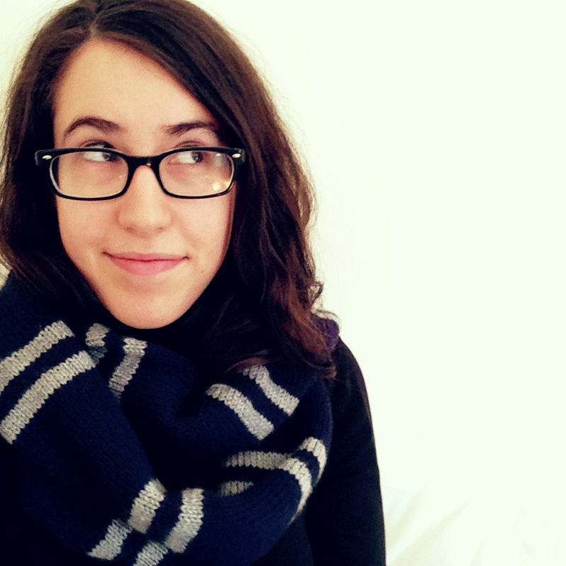 Ravenclaw Circle Scarf Knitting Pattern